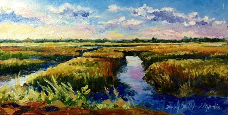 "SOLD ""Time Between Rivers"""