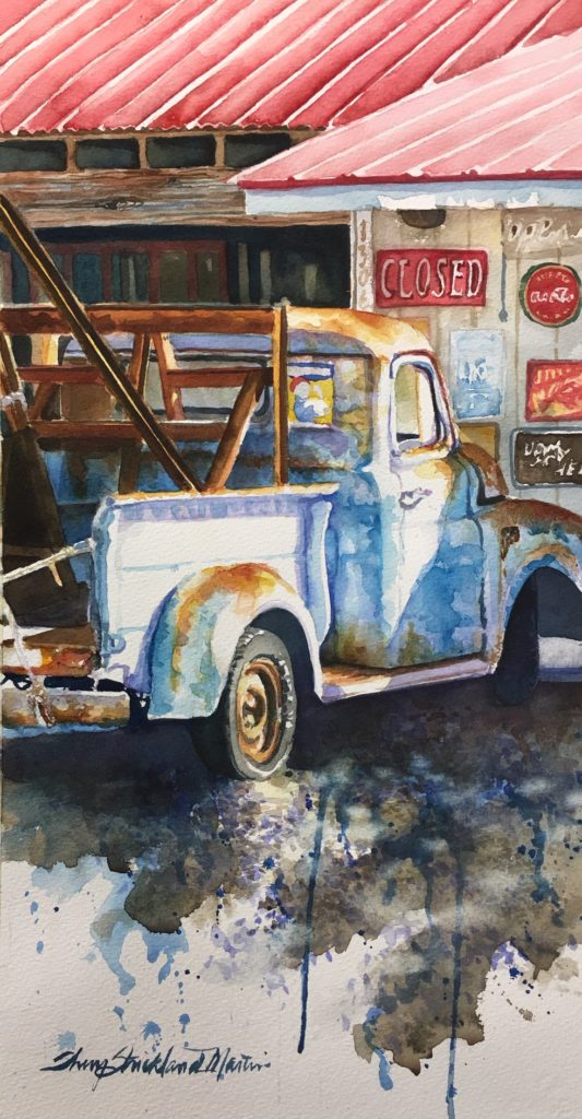 "SOLD ""Ole' Blue"""