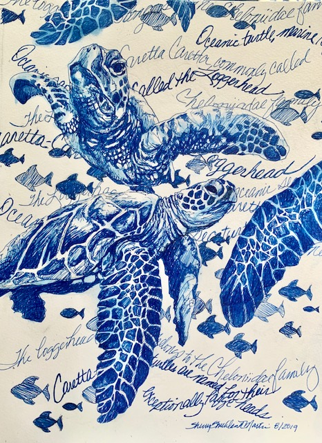 """Caretta-Caretta"" ink C. SSM 2019"